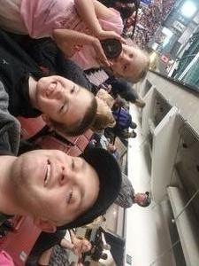 Brandon attended Utah Grizzlies vs. Kansas City Mavericks - ECHL - Fight Cancer Night on Feb 16th 2019 via VetTix