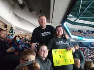 David attended Utah Grizzlies vs Idaho - ECHL - Fan Appreciation Night - Regular Tickets on Apr 6th 2019 via VetTix