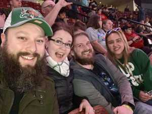 Jeffrey attended Utah Grizzlies vs Idaho - ECHL - Fan Appreciation Night - Regular Tickets on Apr 6th 2019 via VetTix