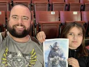 Clayton attended Utah Grizzlies vs Idaho - ECHL - Fan Appreciation Night - Regular Tickets on Apr 6th 2019 via VetTix
