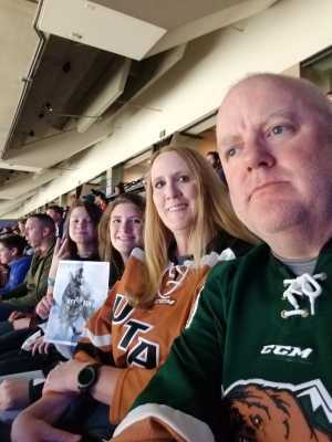 Charles attended Utah Grizzlies vs Idaho - ECHL - Fan Appreciation Night - Regular Tickets on Apr 6th 2019 via VetTix