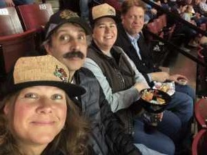Audrey attended Utah Grizzlies vs Idaho - ECHL - Fan Appreciation Night - Regular Tickets on Apr 6th 2019 via VetTix