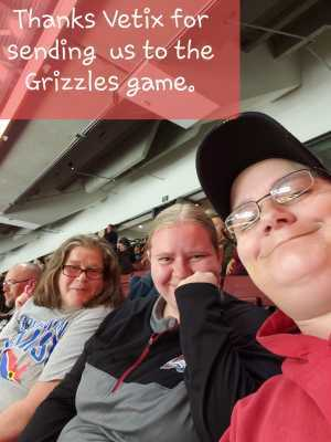 Mrn4lf  attended Utah Grizzlies vs Idaho - ECHL - Fan Appreciation Night - Regular Tickets on Apr 6th 2019 via VetTix