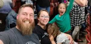 Sara attended Utah Grizzlies vs Idaho - ECHL - Fan Appreciation Night - Regular Tickets on Apr 6th 2019 via VetTix