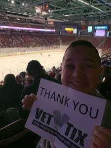 Click To Read More Feedback from Utah Grizzlies vs. Idaho - ECHL - Fan Appreciation Night - Sunday