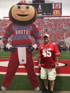 Ronald attended Ohio State Buckeyes vs. Rutgers Scarlet Knights - NCAA Football on Sep 8th 2018 via VetTix
