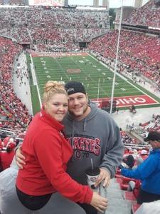 Jason attended Ohio State Buckeyes vs. Rutgers Scarlet Knights - NCAA Football on Sep 8th 2018 via VetTix