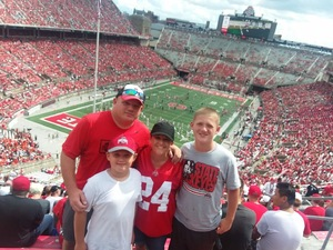gary attended Ohio State Buckeyes vs. Rutgers Scarlet Knights - NCAA Football on Sep 8th 2018 via VetTix
