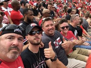 Dennis attended Ohio State Buckeyes vs. Rutgers Scarlet Knights - NCAA Football on Sep 8th 2018 via VetTix