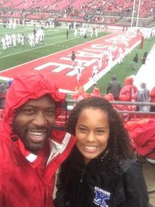 Paul attended Ohio State Buckeyes vs. Rutgers Scarlet Knights - NCAA Football on Sep 8th 2018 via VetTix