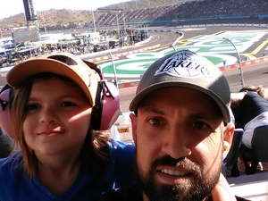 James attended Can-am 500 - Ism Raceway on Nov 11th 2018 via VetTix