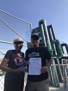 Alan attended Can-am 500 - Ism Raceway on Nov 11th 2018 via VetTix