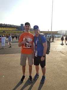 David attended Can-am 500 - Ism Raceway on Nov 11th 2018 via VetTix