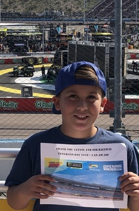 Keith attended Can-am 500 - Ism Raceway on Nov 11th 2018 via VetTix