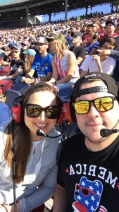 Shane attended Can-am 500 - Ism Raceway on Nov 11th 2018 via VetTix