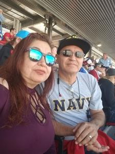 Carlos attended Can-am 500 - Ism Raceway on Nov 11th 2018 via VetTix