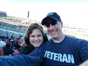 Peter attended Can-am 500 - Ism Raceway on Nov 11th 2018 via VetTix