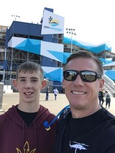 Edward attended Can-am 500 - Ism Raceway on Nov 11th 2018 via VetTix