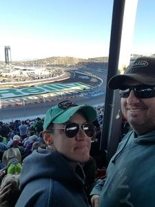 Douglas attended Can-am 500 - Ism Raceway on Nov 11th 2018 via VetTix