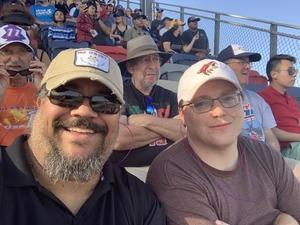 Steven attended Can-am 500 - Ism Raceway on Nov 11th 2018 via VetTix