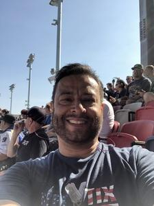Alejandro attended Can-am 500 - Ism Raceway on Nov 11th 2018 via VetTix