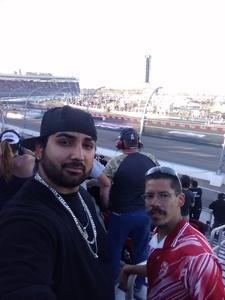 Richard attended Can-am 500 - Ism Raceway on Nov 11th 2018 via VetTix