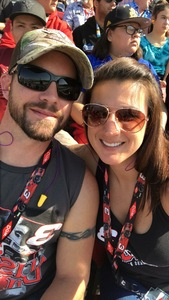 Anthony attended Can-am 500 - Ism Raceway on Nov 11th 2018 via VetTix
