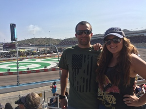 Josef attended Can-am 500 - Ism Raceway on Nov 11th 2018 via VetTix