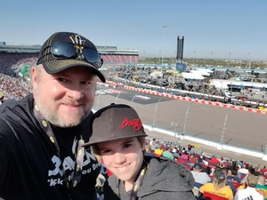 Scott Pietrzak attended Can-am 500 - Ism Raceway on Nov 11th 2018 via VetTix