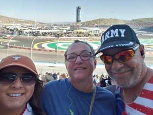 Brian attended Can-am 500 - Ism Raceway on Nov 11th 2018 via VetTix