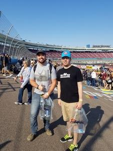 Shawn attended Can-am 500 - Ism Raceway on Nov 11th 2018 via VetTix