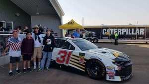 Scott attended Can-am 500 - Ism Raceway on Nov 11th 2018 via VetTix