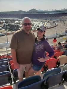 Chris attended Can-am 500 - Ism Raceway on Nov 11th 2018 via VetTix