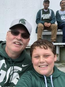 Michael attended Michigan State Spartans vs. NWU Wildcats - NCAA Football on Oct 6th 2018 via VetTix
