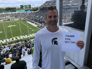 Paul attended Michigan State Spartans vs. NWU Wildcats - NCAA Football on Oct 6th 2018 via VetTix