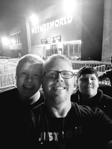Terry (Scott) attended Netherworld Haunted House - Good for Specific Days Only - Please Read Below on Oct 7th 2018 via VetTix