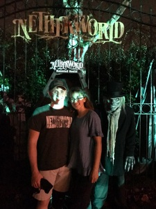 Brad attended Netherworld Haunted House - Good for Specific Days Only - Please Read Below on Oct 7th 2018 via VetTix