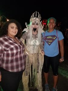Samuel attended Netherworld Haunted House - Good for Specific Days Only - Please Read Below on Oct 7th 2018 via VetTix