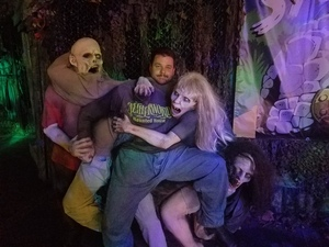 Michael attended Netherworld Haunted House - Good for Specific Days Only - Please Read Below on Oct 7th 2018 via VetTix