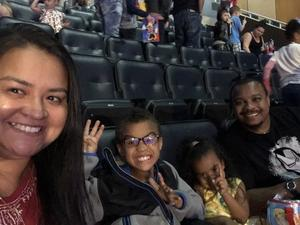 Rosamaria attended Disney on Ice Presents Mickey's Search Party on Sep 9th 2018 via VetTix