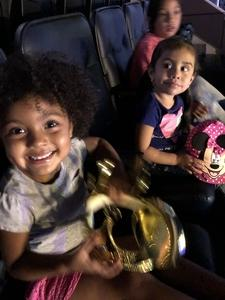 Yvonne attended Disney on Ice Presents Mickey's Search Party on Sep 9th 2018 via VetTix