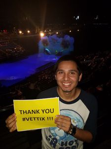 Avery attended Disney on Ice Presents Mickey's Search Party on Sep 9th 2018 via VetTix
