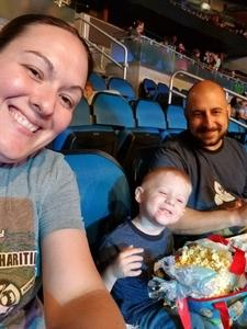 Ariel attended Disney on Ice Presents Mickey's Search Party on Sep 9th 2018 via VetTix