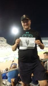Darren attended University of Buffalo Bulls vs. Eastern Michigan Eagles- NCAA Football on Sep 15th 2018 via VetTix