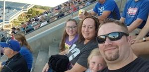 Lisa attended University of Buffalo Bulls vs. Eastern Michigan Eagles- NCAA Football on Sep 15th 2018 via VetTix