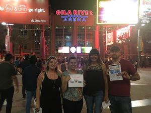 Paulina attended Game of Thrones Live Concert Experience on Sep 12th 2018 via VetTix