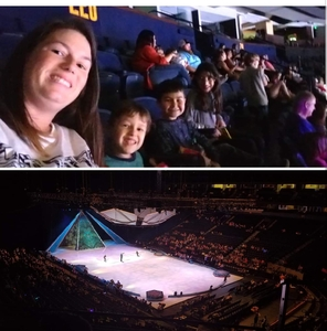 Gonzalez Family attended Disney on Ice - Frozen on Sep 15th 2018 via VetTix