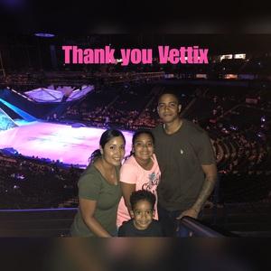 Gilberto attended Disney on Ice - Frozen on Sep 15th 2018 via VetTix