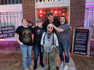 Riley attended Carpenter's Mortuary Spook House - Good for the 5th or 6th Only. on Oct 5th 2018 via VetTix
