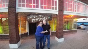 Paul attended Carpenter's Mortuary Spook House - Good for the 5th or 6th Only. on Oct 5th 2018 via VetTix